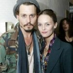 Johnny Depp with his girlfriend Vanessa Paradis