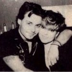Johnny Depp with his sister Christi Dembrowski