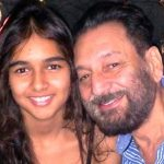 Kaveri Kapur with her father