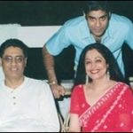 Kirron Kher with her Ex-husband Gautam Berry