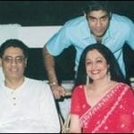 Kirron Kher with her Ex-husband Gautam Berry