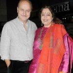 Kirron Kher with her husband Anupam Kher