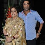 Kirron Kher with her son Sikandar Kher