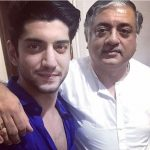 Kunal Jaisingh with his father