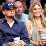 Leonardo DiCaprio with Bar Refaeli