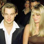 Leonardo DiCaprio with model Kristen Zang