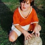 Lionel Messi Childhood Photo