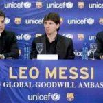 Lionel Messi UNICEF Goodwill Ambassador