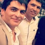 Manav Kaul with his brother