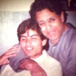 Manav Kaul withhis father