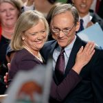 Meg Whitman with her husband Griffith Harsh IV