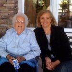 Meg Whitman with her mother Margaret Cushing Whitman