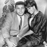 Muhammad Ali with his 1st wife Sonji Roi
