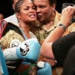 Muhammad Ali with his daughter Laila Ali