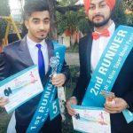 Navdeesh Arora 1st Mr and Ms Super Model of Punjab 2015