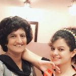 Palak Muchhal with her mother