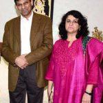 Raghuram Rajan with his wife Radhika Puri