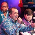 Rahat Fateh Ali Khan with his son Shazmaan