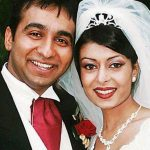 Raj Kundra with his Ex-wife Kavita
