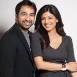 Raj Kundra with his wife Shilpa Shetty