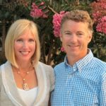 Rand Paul with his wife Kelly Paul
