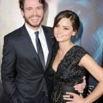 Richard Madden with his girlfriend Jenna Coleman