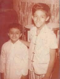 Salim Merchant's childhood picture