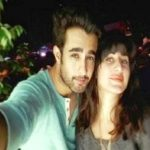 Saloni Chopra with Satyajeet Dubey