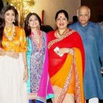 Shamita Shetty with her family