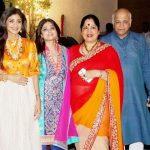 Shamita Shetty with her family