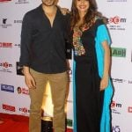 Shibani Dandekar with Keith Sequeira