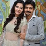 Shonali Nagrani with her husband