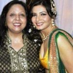 Shonali Nagrani with her mother