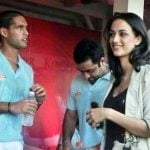 Siddharth Mallya with  Angela Johnson
