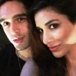 Siddharth Mallya with Sophie Chaudhary