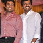 Suriya with his brother Karthi