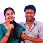 Suriya with his wife Jyothika