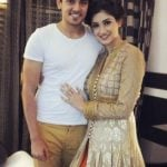 Tanvi Vyas with her boyfriend