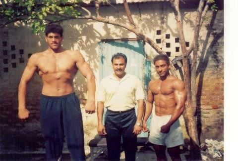 The great khali height weight age biography wife more the great khali in his younger days voltagebd Images