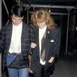 Tom Cruise with his Ex-girlfriend Patti Scialfa