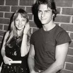 Tom Cruise with his Ex-girlfriend Rebecca De Mornay