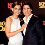 Tom Cruise with his Ex-gorlfriend Katie Holmes