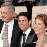 Tom Cruise with his parents