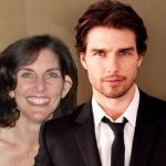 Tom Cruise with his sister Cass Mapother