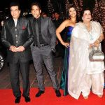 Tusshar Kapoor with his family