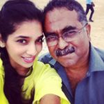 Twinkle Patel with her father