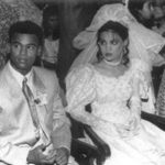 Vinod Kambli with his 1st wife Noella Lewis