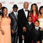 morgan-freeman-with-his-children-and-grandchildren
