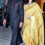 Ajay Jadeja with his wife Aditi