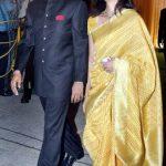 Ajay Jadeja with his wife Aditi